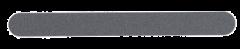 Becker viila, 17,5 cm (musta hiekkapaperiviila) 1 kpl