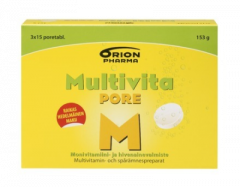 MULTIVITA PORE MONIVITAMIINI 45 PORETABL