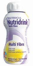 NUTRIDRINK MULTI FIBRE VANILJA X4X200 ml